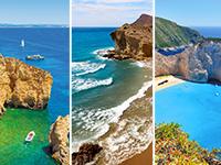Lieliskākās Eiropas pludmales saules un ūdens atpūtas tīkotājiem