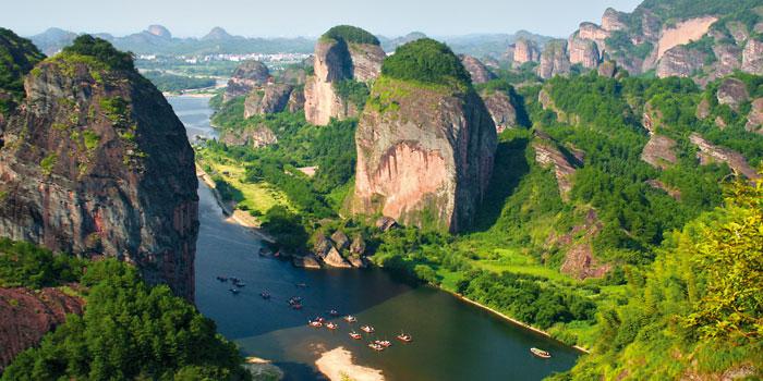 Palei Jangdzę, didžiąją Kinijos upę