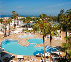 Les Almohades Beach Resort Agadir гостиница (Агадир, Марокко)