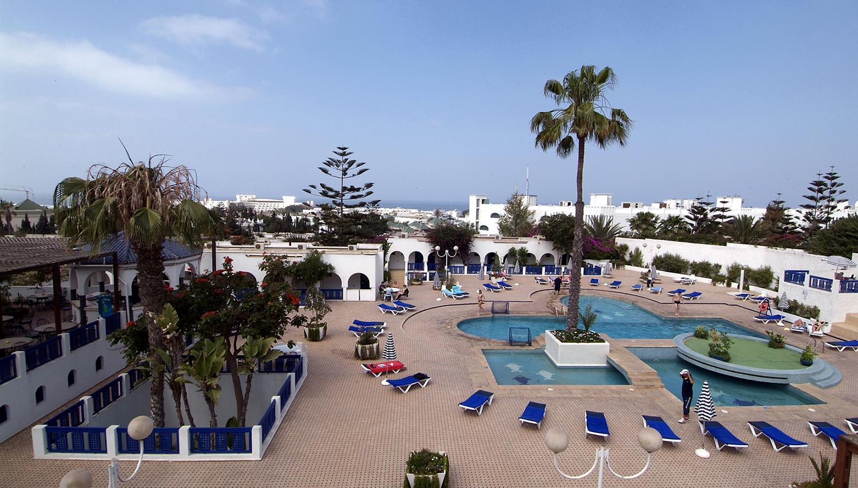 HRM Les Omayades viesnīca (Agadira, Maroka)