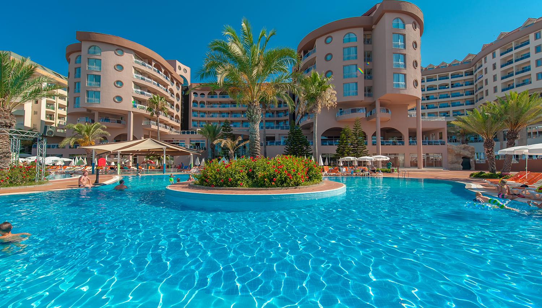 Kirman Hotels Arycanda De Luxe hotell (Antalya, Türgi)