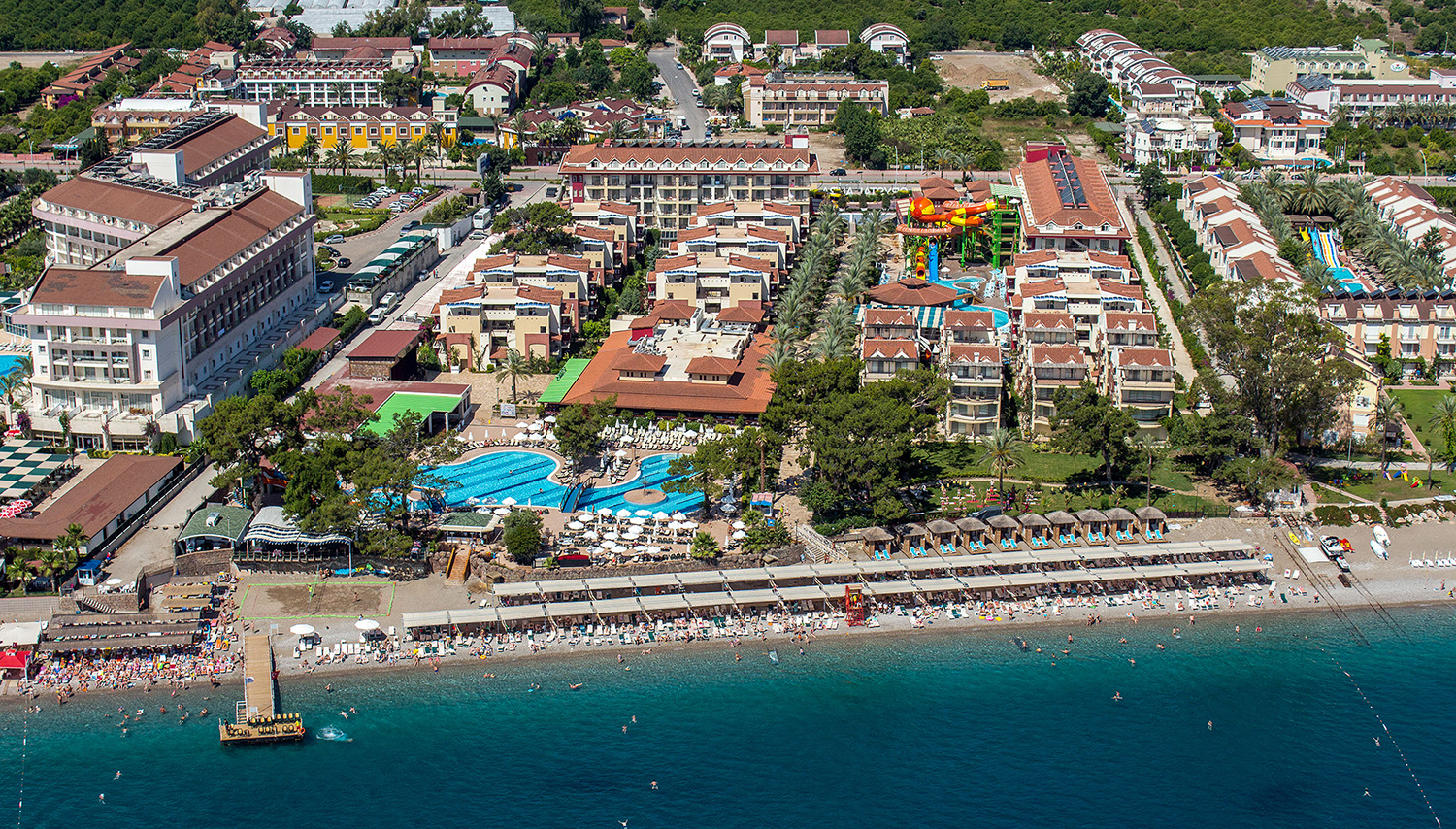 Crystal Aura Beach Resort & SPA Гостиница (Анталия, Турция)