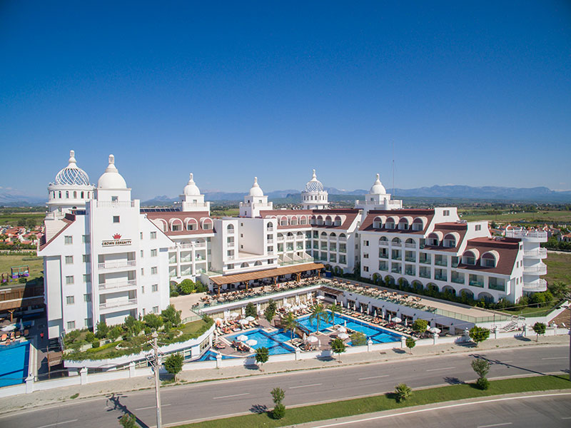 Сиде кроун серенити отель турция отзывы 2017