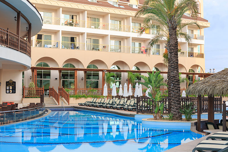 Side Crown Palace viesnīca (Antālija, Turcija)