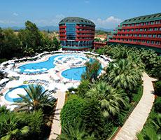 Delphin Deluxe viešbutis (Antalija, Turkija)