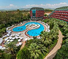 Delphin Deluxe viešbutis (Alanija(Gazipaša), Turkija)