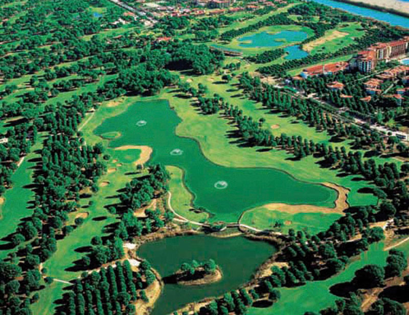 Gloria Golf Resort viesnīca (Antālija, Turcija)