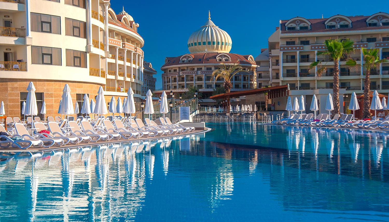 Kirman Hotels Belazur Resort & Spa hotell (Antalya, Türgi)