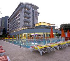 Katya viešbutis (Alanija(Gazipaša), Turkija)