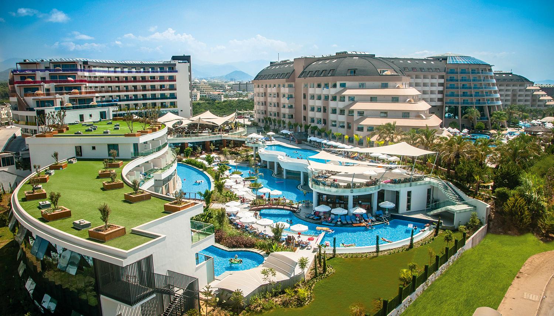 Long Beach Harmony viesnīca (Antālija, Turcija)