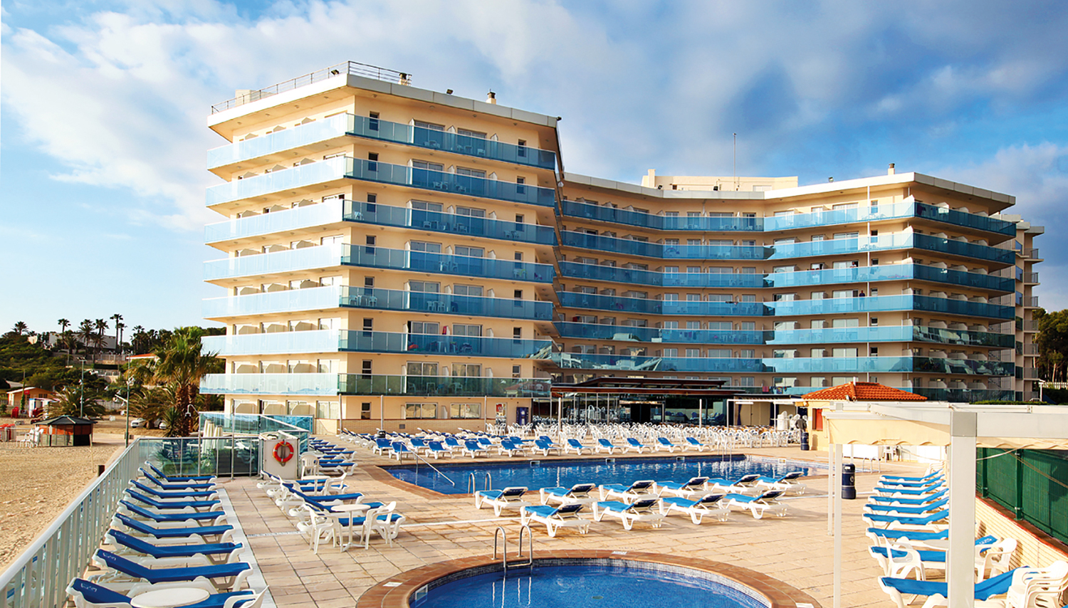 Golden Donaire Beach hotell (Barcelona, Hispaania)