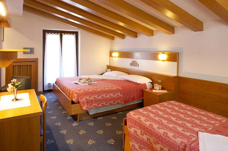 Bellavista (Giustino) viešbutis (Bergamas, slidinėjimas Italijoje, Italija)
