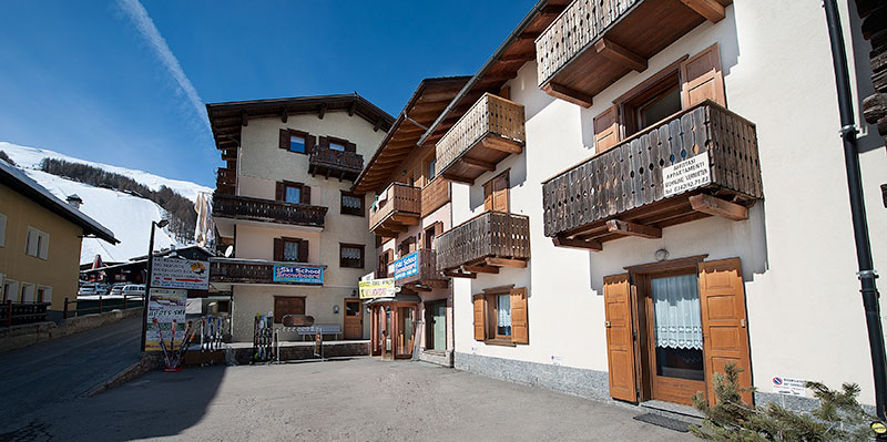Carosello 3000 apartamentai viešbutis (Bergamas, slidinėjimas Italijoje, Italija)
