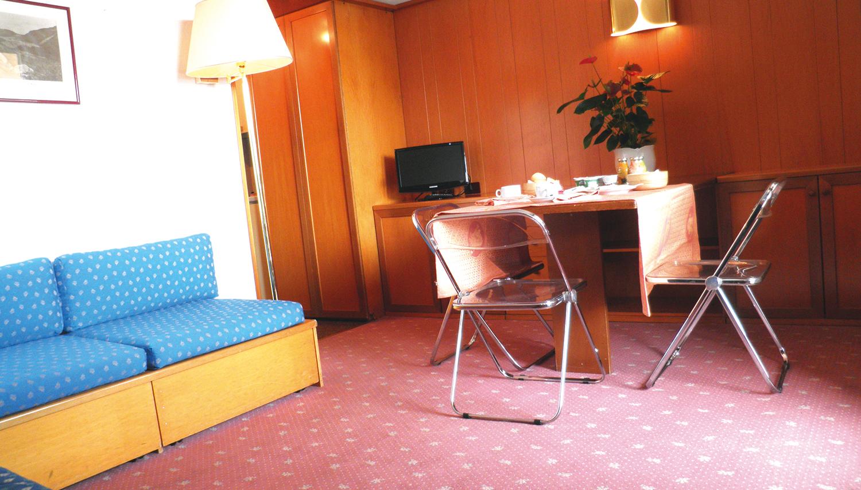 Residence Des Alpes 2 viešbutis (Bergamas, slidinėjimas Italijoje, Italija)
