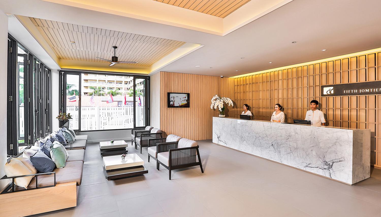 Fifth Jomtien The Residence hotell (Bangkok, Tai)