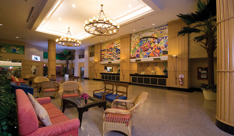 Jomtien Palm Beach Hotel & Resort hotell (Bangkok, Tai)