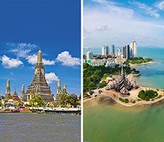 Combined tour Bangkok(3n)-Koh Chang(the rest nights) viesnīca (Bangkoka, Taizeme)