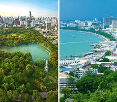 Jungtinis turas Bankokas(3n)-Pataja(10n) viešbutis (Bankokas, Tailandas)