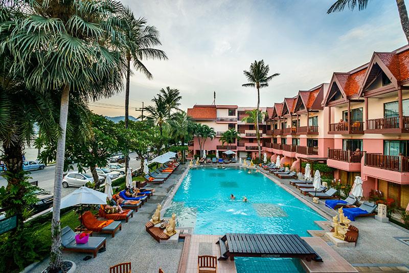 Sea View Patong hotell (Phuket, Tai)