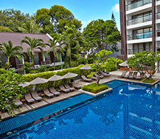 Woodlands Suites hotell (Bangkok, Tai)