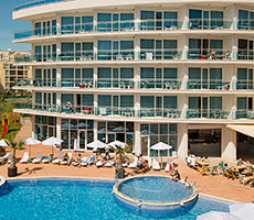 Calypso viesnīca (Burgasa, Bulgārija)