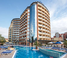 Smartline Meridian viesnīca (Burgasa, Bulgārija)