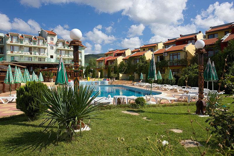 Yalta hotell (Burgas, Bulgaaria)