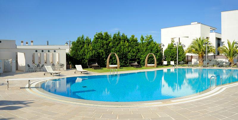 Grand Hotel La Chiusa Di Chietri viešbutis (Apulija, Italija)