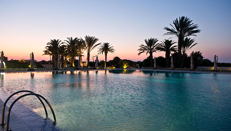 Grand Hotel Masseria Santa Lucia viešbutis (Apulija, Italija)
