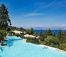 Aeolos Beach Resort viesnīca (Korfu, Grieķija)