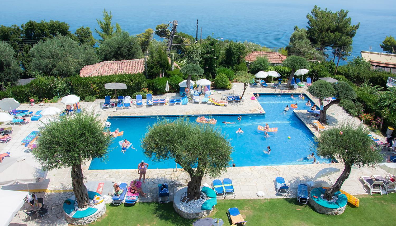 Alexandros hotell (Corfu, Kreeka)