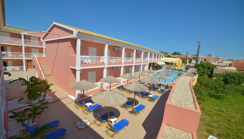 Angelina hotell (Corfu, Kreeka)
