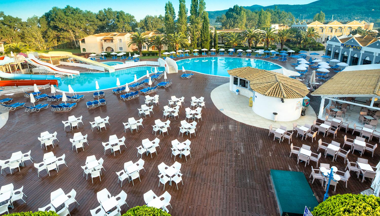 Labranda Sandy Beach Resort viesnīca (Korfu, Grieķija)