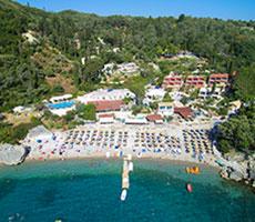 Blue Princess Beach Resort viesnīca (Korfu, Grieķija)