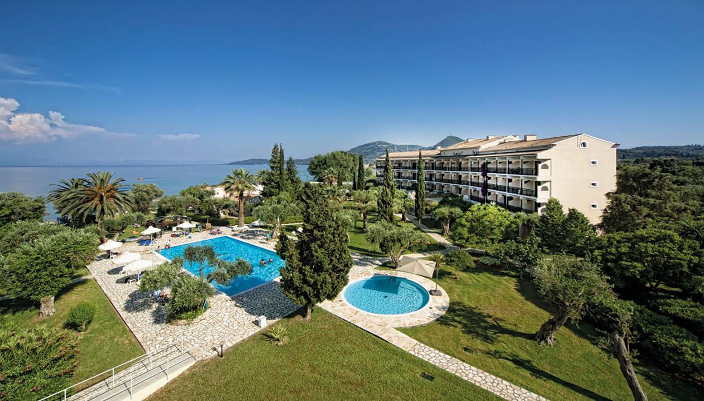 Delfinia hotell (Corfu, Kreeka)