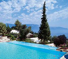 Grecotel Daphnila Bay Thalasso viesnīca (Korfu, Grieķija)