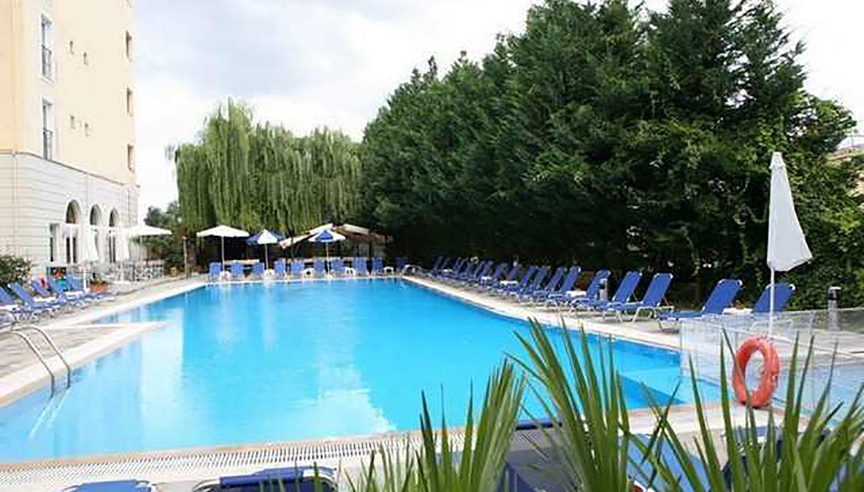 Hellinis viesnīca (Korfu, Grieķija)