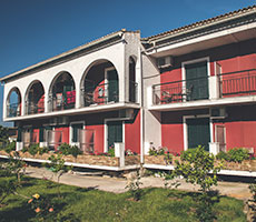 Iliada Beach hotell (Corfu, Kreeka)