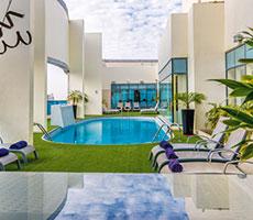 First Central Hotel Suites viešbutis (Dubajus, JAE)