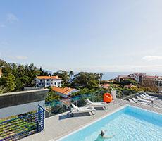 Terrace Mar Suite Hotel viesnīca (Madeira, Portugāle)