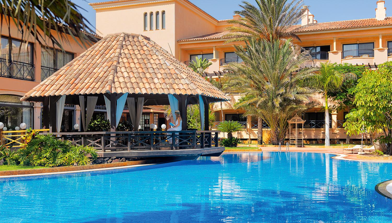 Gran Hotel Atlantis Bahia Real viesnīca (Fuerteventura, Kanāriju salas)