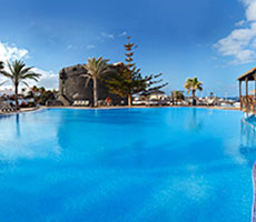 Barcelo Castillo Beach Resort viesnīca (Fuerteventura, Kanāriju salas)