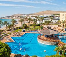 SBH Costa Calma Beach Resort viesnīca (Fuerteventura, Kanāriju salas)