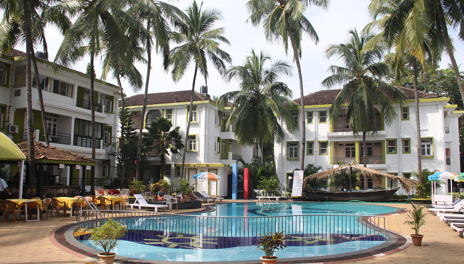 Alor Grande Holiday Resort viesnīca (Goa, Indija)