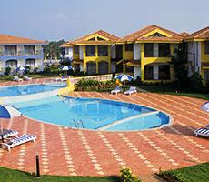 Baywatch Resort hotell (Goa, India)