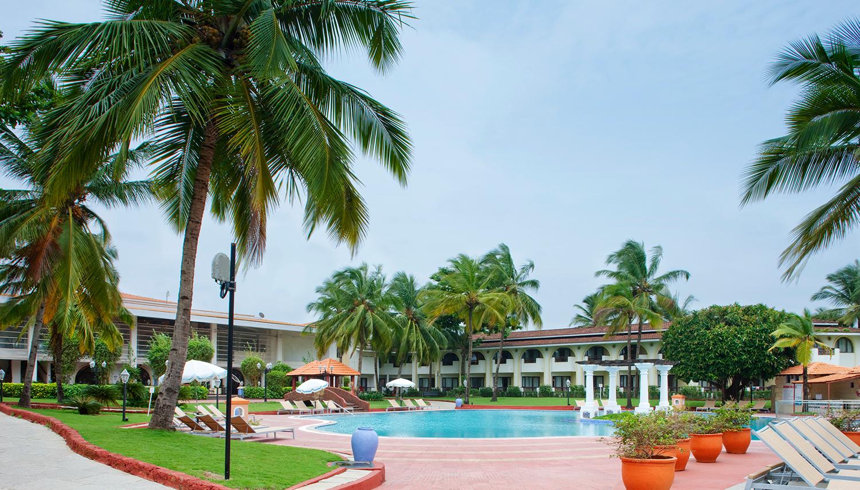 Holiday Inn Resort viesnīca (Goa, Indija)