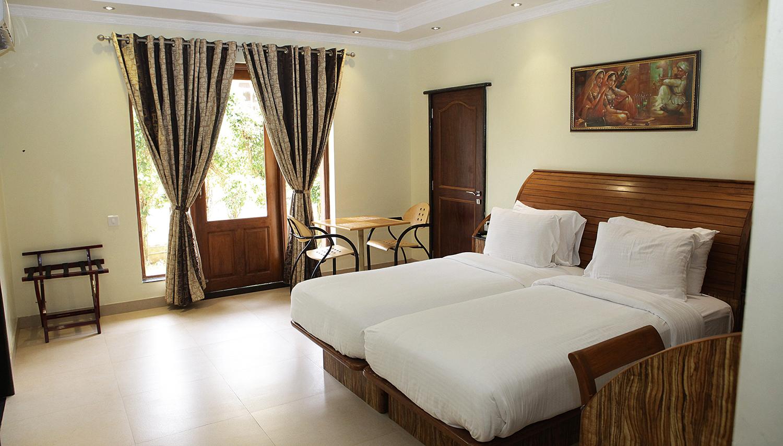 Joecons Beach Resort viesnīca (Goa, Indija)