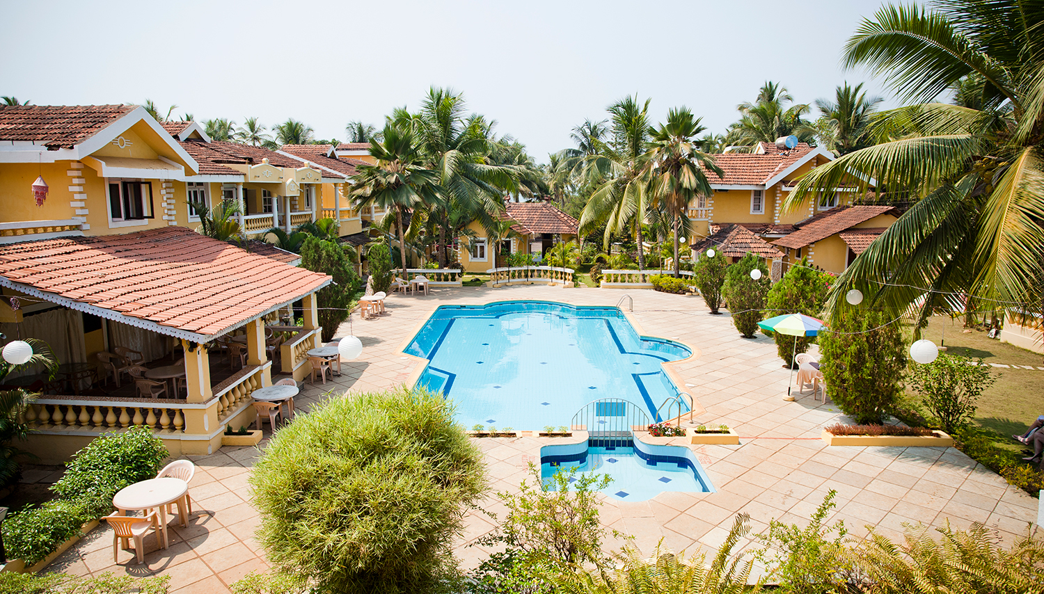 Pifran Holiday Beach Resort viesnīca (Goa, Indija)
