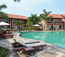 The Golden Crown Hotel & Spa hotell (Goa, India)