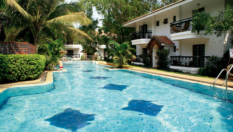Vila Goesa Beach Resort viesnīca (Goa, Indija)